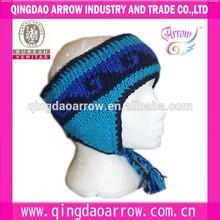 Wool Hand-Knitted Ear Muffler & Ear Muffs Ski Headwear