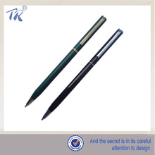 Metal Material Type Slim Twist Hotel Ball Pen for Promotion