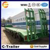 New semi trailer 3 axle/Cheap dolly semi trailer