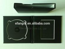leather wedding double CD &DVD folio case