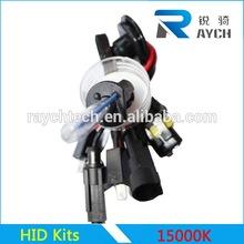 Guangzhou factory best quality hid xenon electronic lamp hid kits lighting bulbs 15000K
