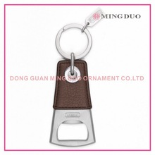 metal bottle opener with leather, cooking tools