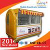 easy work street vending kiosk/coffee stand/ice-cream cart