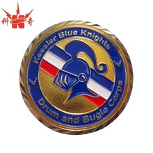 High quality sprots football league challenge coin for sale