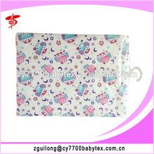 100% Cotton single bed sheets Custom printed bed sheets