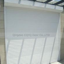 CE certificated steel rolling shutter/Good Quality Steel Rolling Shutters Made in China/77mm Slats Steel Rolling Shutters