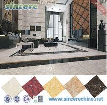 High end elegant glossy glazed porcelain tile for building project