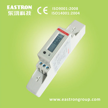 SDM120C Single Phase Energy Meter, LCD , kWh, kW, V,A, P, PF, RS485 Meter, Up to 45A, MID Pending