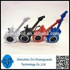 2014 New Product Mini Guita Shape Computer Accessories Speakers