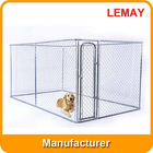 7.5x13x6ft large animal cage panels with galvanized steel