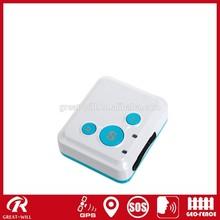 Mini 15mm kids phone gps tracker via SMS/Platform tracking-TK16