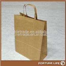 cina offerta di fabbrica sacchetto di carta marrone caffè ingrosso