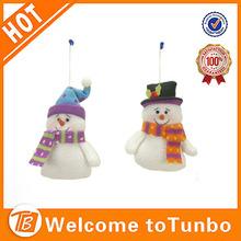 2014 Christmas snowmen.Santa Claus.Kriss Kringle father christmas.Father Xmas. christmas ornament.