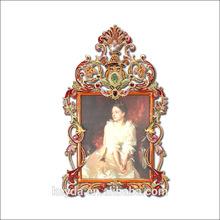 Especial diseño de la flor marco de fotos de aniversario de boda foto marco de marco de fotos