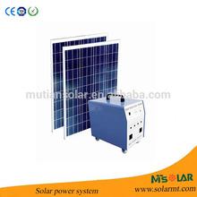 Solar Power System 300W, Solar Generator 110/220V Output
