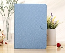 Luxurious Honeycomb Diamond Pattern Design Stand Flip Leather Protective Case Cover For Apple Ipad 5 iPad Air