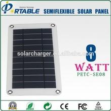 High efficiency Semi Flexible Solar Panel
