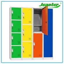 Guangzhou factory direct colorful 1,2,3,4 door z shape metal school locker
