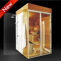 New design losing weight home made wood pallet corner sauna