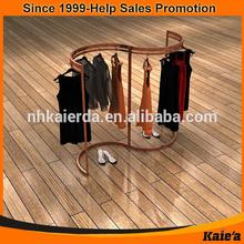 2014 kaierda el display t shirt/ t shirt display/t shirt display rack