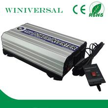 1.2kw grid hybrid solar power inverter with remote control Solar Power Inverter with LCD frequency inverter/ac drive