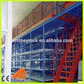 Entresuelo de bastidores de acero, almacén de almacenamiento multi- nivel entresuelo estanterías