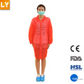 venta caliente desechables bata de laboratorio dental uniforme