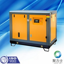 Screw air compressor without tank