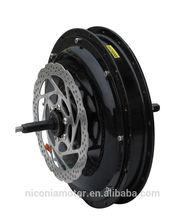 high efficiency brushless 36v 350w ebike motor with CE