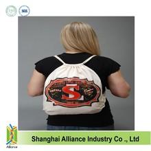 Thick canvas drawstring bag cotton ALD282