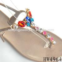 Vintage signed shoe clips shoe buckles for women