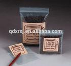 Ziplock Stand Up Coffee Bean Packaging Bags