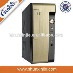SX-C9816 with micro atx power supply mini itx pc cases thin mini itx case