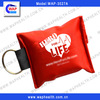 WAP CPR mask keychain one-way valve CPR mask
