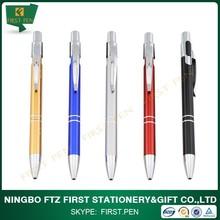 First A079 Cheap Aluminium Material Fancy Writing Pens