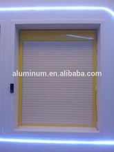 aluminium automatic rolling shutter window