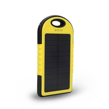 Private mode hot sell in usa 5000mah solar mobile charger cover