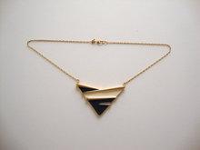 Alloy Black And White Epoxy 2014 Summer Fashion Necklace