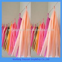 wedding centerpieces paper tassels garland of new business ideas