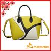 Fashion Multi Colors Leather Tote Handbag