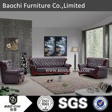 730# fashionable customize hot sale black and gray leather sofa set