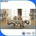C-8003b photos de meubles en bois table basse meubles d'or. tables à café turc