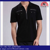 wholesale zipper collar polo shirt