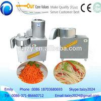 stainless steel carrot shredding machine /radish slicing machine /carrot cutting machine
