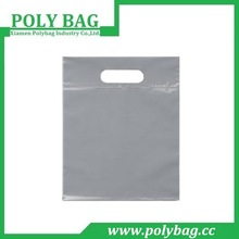 clear die cut plastic bags without printing