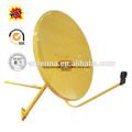 banda ku 90cm tv parabólica antena de piezas