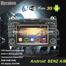 2din Car GPS Benz dvd player/For Mercedes benz A class B class Vito viano sprinter/BT Radio MP4 DVD FM AM USB TV SD