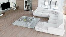 genuine leather u shaped sectional sofa,custom made sectional sofas C1128