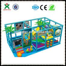 mini indoor playground indoor playground seesaw indoor soft playground made in china QX-108D