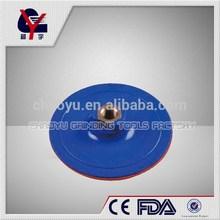 velcro polish pad use with sandpaper
